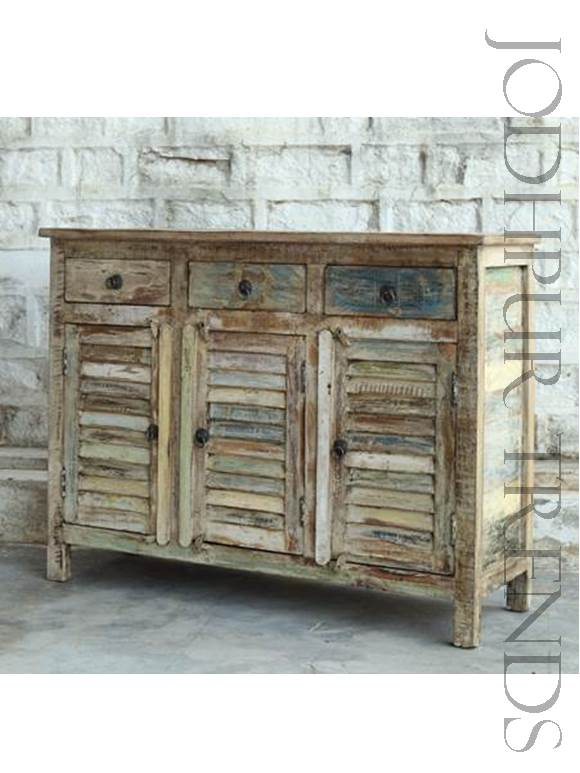 Sideboard In Reclaimed Wood Reclaimed Furniture Manufacturers Jodhpurtrends In