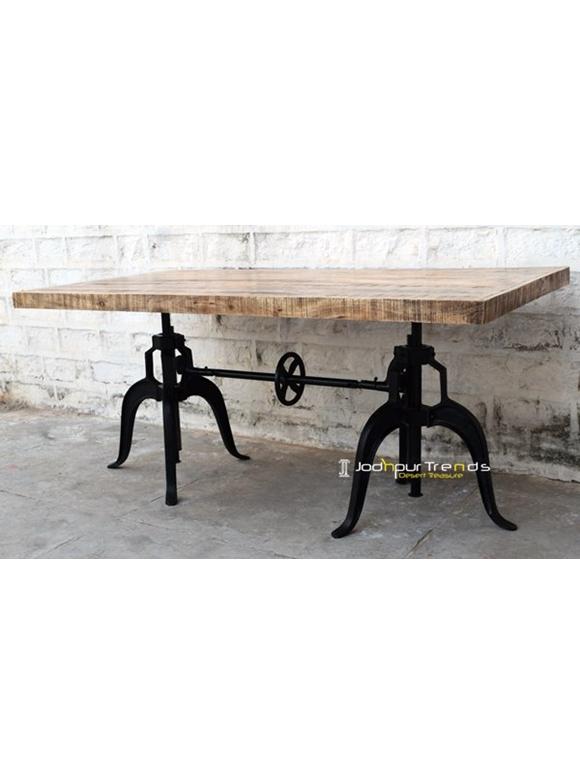 industrial cast iron table designs industrial furniture jodhpur india