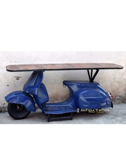 Scooter Console Table | Jodhpur Antique Wooden Furniture