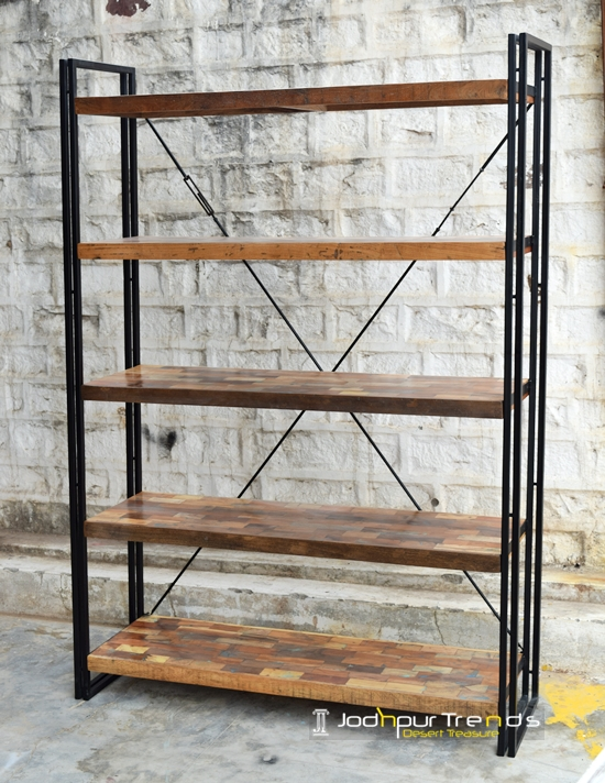 Retro Bookcase | Jodhpur Furniture Shops