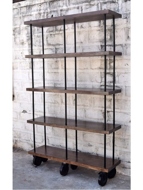 Industrial Bookcase in Open Design   Jodhpur Furniture India