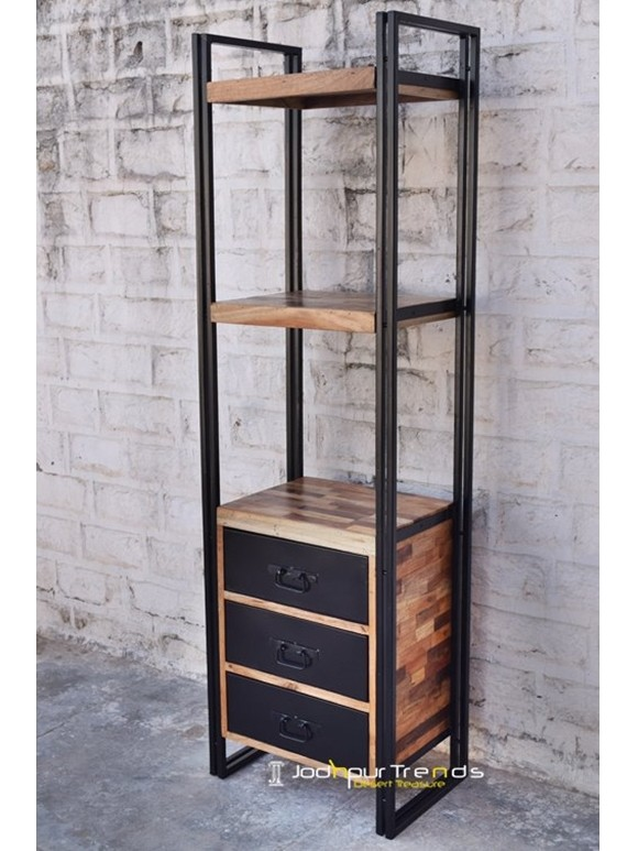 Bookcase in Industrial Design | Furniture From Jodhpur Rajasthan