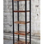 Industrial Etagere Bookcase | Jodhpur Handicraft Furniture