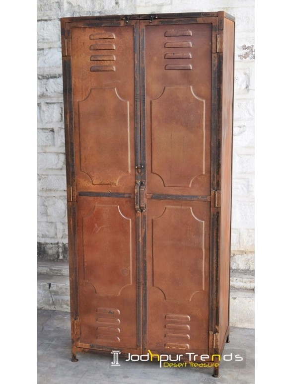 Industrial Style Wardrobe | Jodhpur Furniture Online Shopping