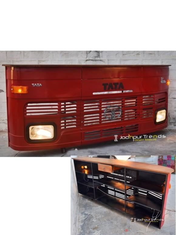 truck bar cabinet, tata truck bar, Automobile Furniture (2)
