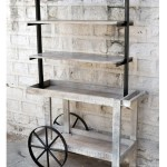 Commercial Cart with Steampunk Wheels | Office Furniture Manufacturers