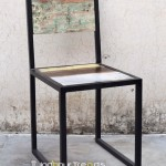 Reclaimed Industrial Chair | Wood Restaurant Chairs