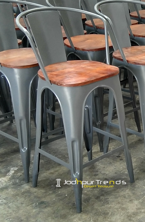 Rustic Barstool | Cafe Table and Chairs