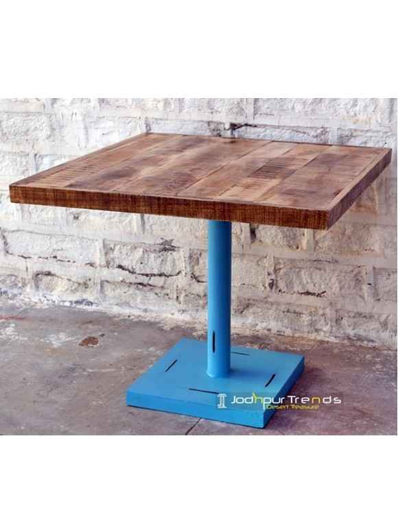Boho Style Cafe Table | Restaurant Dining Tables and Chairs
