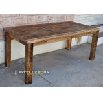 Dining Table in Industrial Design | Cafe Tables