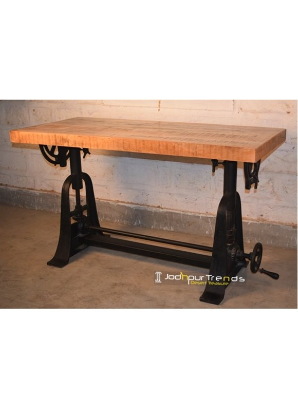 Indian Industrial Table | Cafe Tables and Chairs