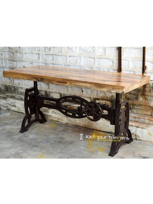Industrial Vintage Table | Vintage Cafeteria Table