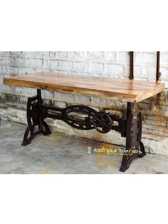 Industrial Vintage Table | Vintage Cafeteria Table