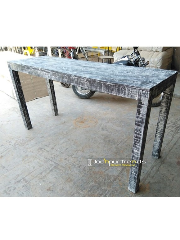Industrial Bar Table in Blue | Cafe Furniture for Sale