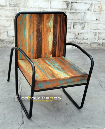 Cafe Chair In Reclaimed Wood Cafe Furniture India Jodhpurtrends In
