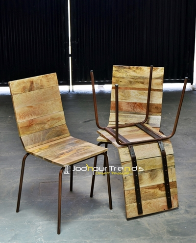 Parsons Dining Chair in Wood | Cafeteria Dining Chairs