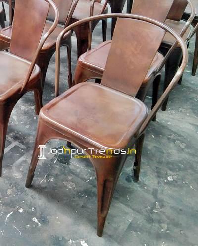 restaurant chair, metal chair