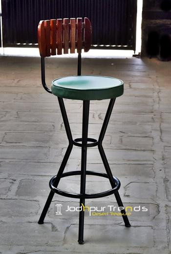 Bar Chair in Cyan | Bar Chairs