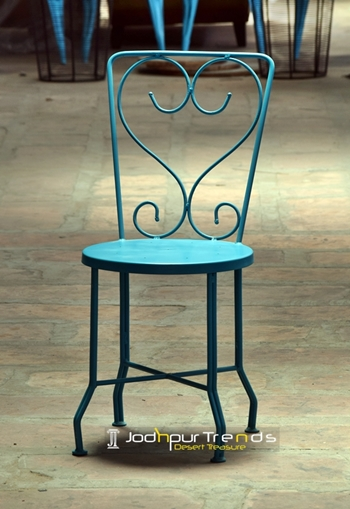 Dining Chair in Cyan | Restaurant Chair Manufacturers