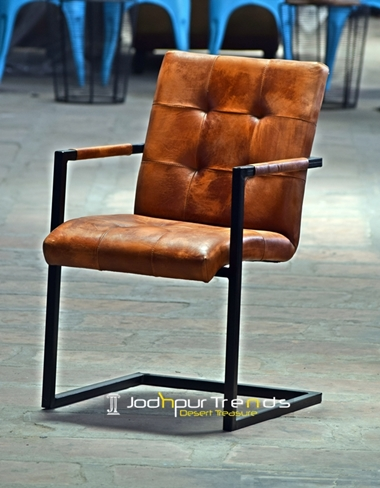 Leather Chair with Arms | Restaurant Chair Supply