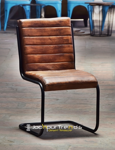 Leather Armless Chair | Restaurant Chairs Wholesale