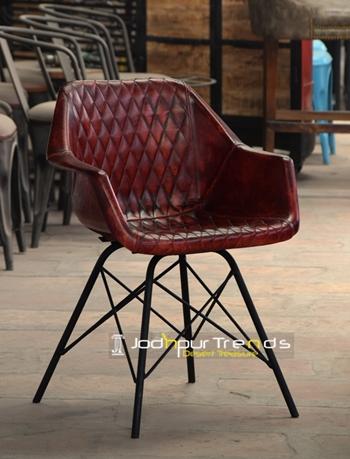 Leather Bucket Chair | Restaurant Chair Supplier