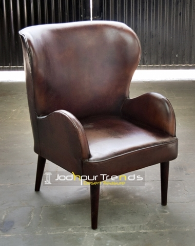 Leather Wingback Chair | Restaurant Furniture Bangalore