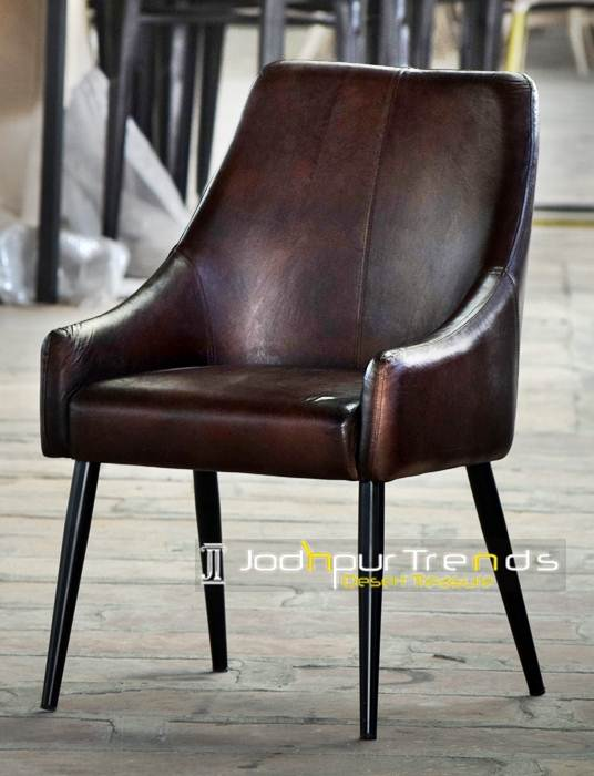 Leather Dining Chair | Chairs for Restaurant Wholesale India | JodhpurTrends.in