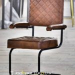 Leather Armchair | Chairs for Restaurant in India | JodhpurTrends.in