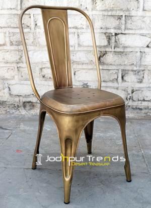 Metal Finish Chair
