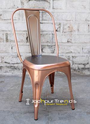 Copper Tolix Metal Chair | Restaurant Metal Seating