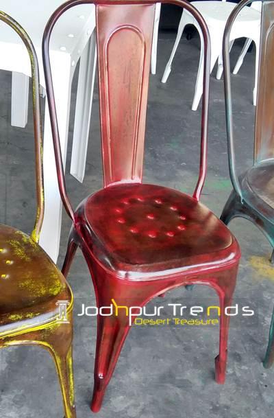 Distressed Tolix Chair | Restaurant Furniture