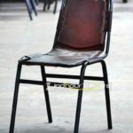 Leather Armless Chair | Restaurant Chairs in India