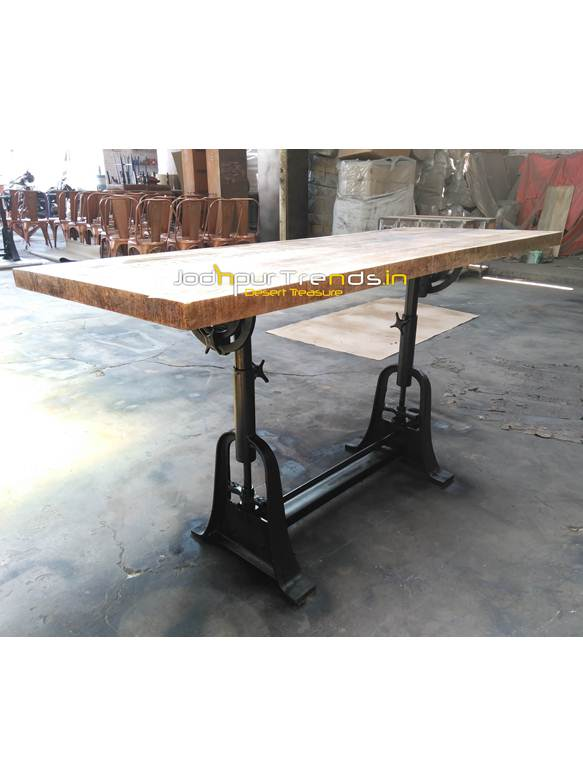 Astounding Iron Industrial Table Restaurant Dining Table Design Interior Design Ideas Oxytryabchikinfo