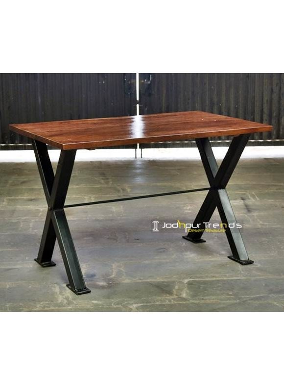 Restaurant Furniture, Industrial Table, Solid Wood Restaurant Table, Rustic Pub Furniture
