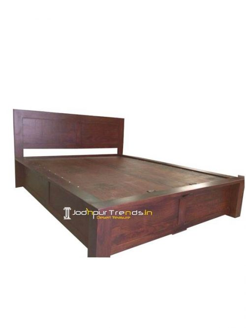 Acacia Wood Bed | Hotel Furniture Collection