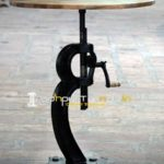 Bar Pub Industrial Table, Cast Iron Table,  Adjustable Bar Table, Metal Furniture Manufacturers