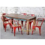 Bistro Table Set,  Reclaimed Dining Set, Furniture For Restaurant India