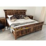 Hospitality Contract Furniture Hotel Room Bed Resort Room Bed Safari Bed