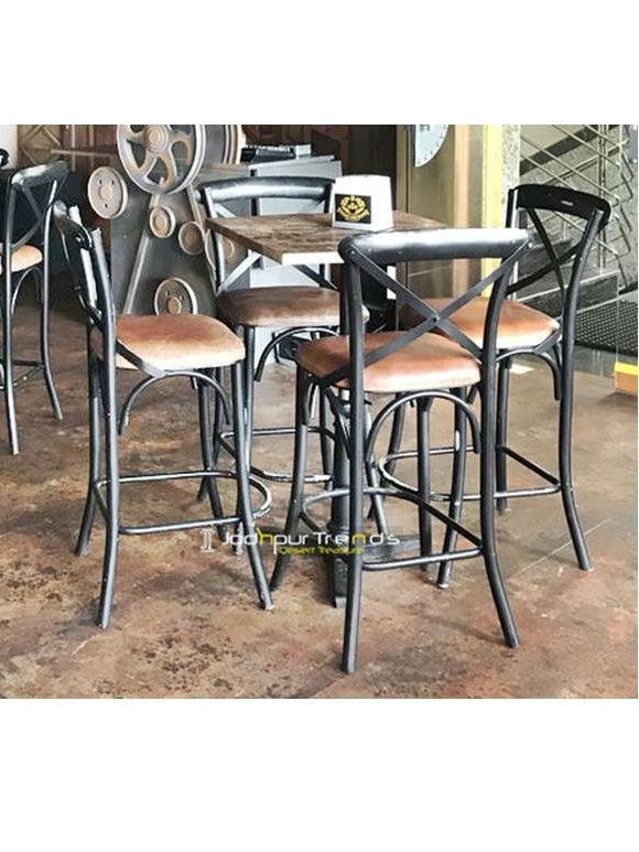 Adjustable Bar Table Cast Iron Bar Set Bar Furniture Luxury