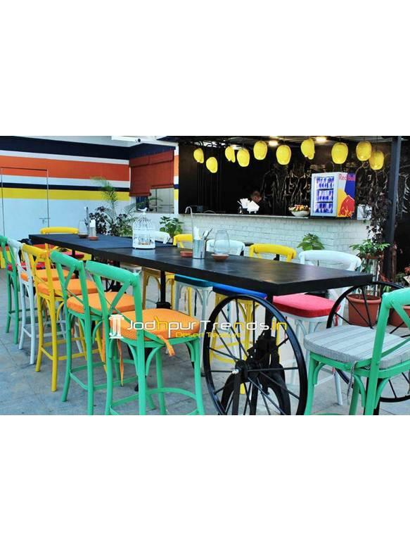 Adjustable Bar Table Outdoor Bar Furniture Pub Furniture India