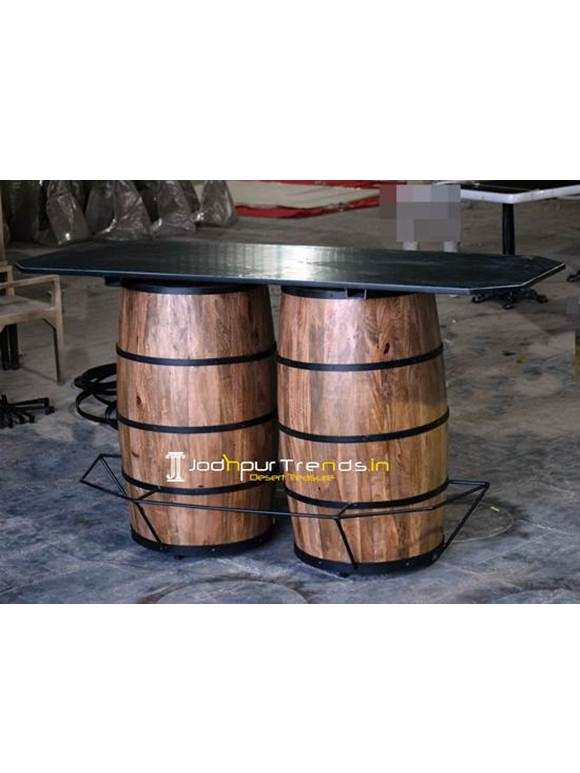 Barrel Inspire Counter Bar Table Bar & Pub Counter