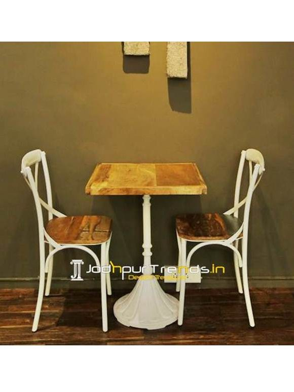 Cafeteria Furniture Cafe Casting Table Set Furniture Makers in India