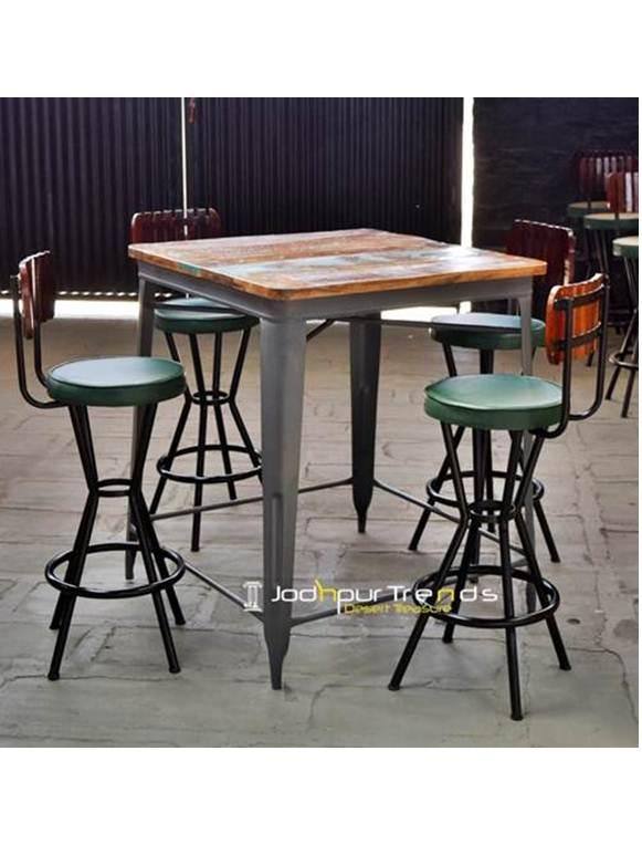Counter Table Set Bar Table Set Restaurant Lounge Furniture
