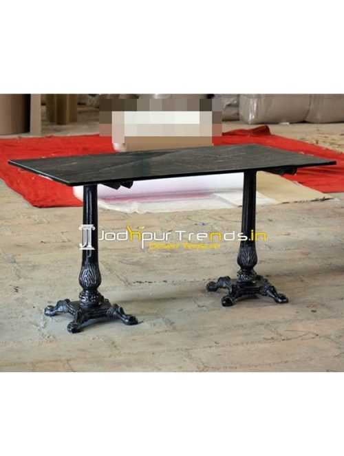 Distress Outdoor Granite Table Granite Marble Furniture for hospitality