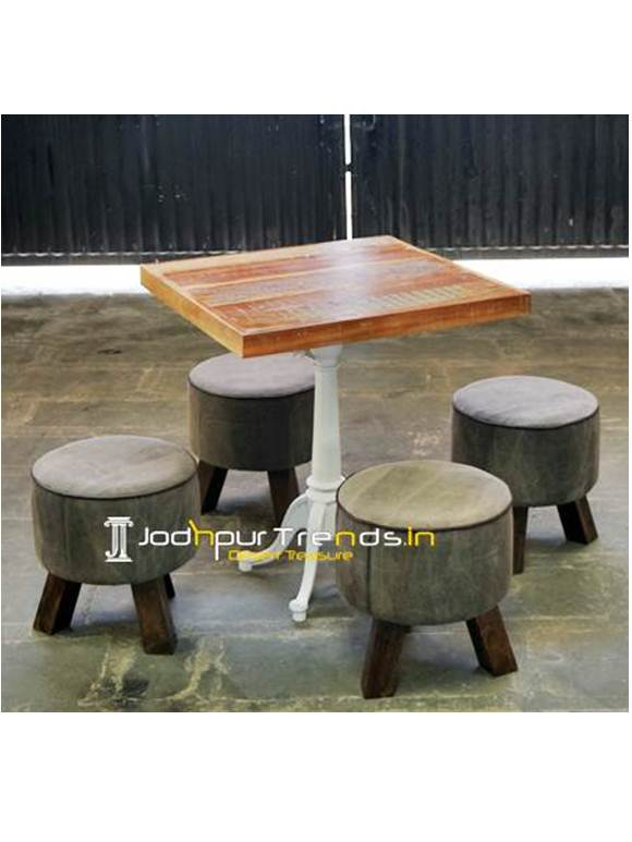 Hookah Bar Table Set Fast Food Table Set Fast Food Furniture