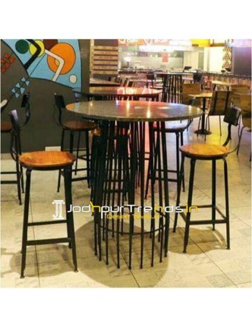 Industrial Pub Table Solid Bar Table Nightclub Furniture Wholesale