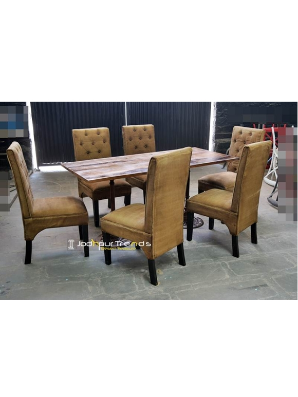 Industrial Restaurant Furniture Table Bench Set Food Court Industrial Furniture