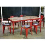 Iron Chair Table Set Metal Restaurant Table Set Bespoke Commercial Furniture