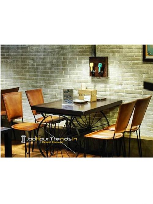 Leather Dining Set Commercial Table Set Commercial Furniture Suppliers